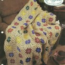 *Crochet Afghan Collector's Series - Crayon Stars