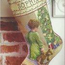 *Christmas Cross Stitch Stocking Kit - Child on Christmas Morning