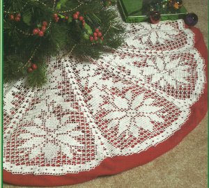 Filet Crochet Christmas Patterns - Online Crochet Instruction