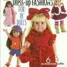 "*Annie's Attic Crochet Doll 18"" Dress-Up Fashion"
