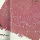 *Filet Crochet Rose Afghan Pattern - Annie's Attic