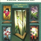 * Stained Glass Pattern Aanraku Table Lanterns - Lazy Afternoon Lamps