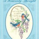 ** Cross Stitch Pattern by Sam Hawkins - A Heavenly Thought - Birds