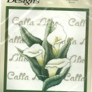 ** Cross stitch kit CALLA LILIES Bobbie G Designs