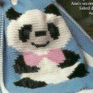 Baby Panda Afghan Pattern