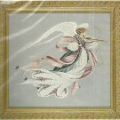 ** Lavender & Lace Cross Stitch KIT Angel Of Spring