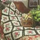 ** Peach Blossoms Afghan - Annie's Crochet Quilt Afghan Pattern