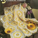 ** Sunshine Throw - Annie&#39;s Crochet Quilt Afghan Pattern