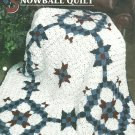 ** Snowball Quilt Afghan Pattern - Annie's Quilt and Afghan Club