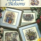 ** BOUQUETS & BLOSSOMS  12 cross stitch patterns