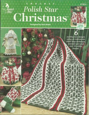 Free Crochet Pattern For Polish Star : ** Crochet Polish Star Christmas - Annies Attic