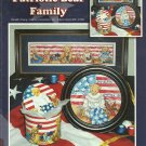** Cross stitch patterns Stoney Creek PATRIOTIC BEAR FAMILY