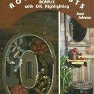 ** Joan Johnson - Roundabout - Acrylic with Oil - Folkart