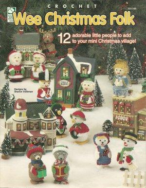 ** Wee Christmas Crochet - 12 Adorable Little People