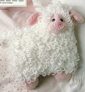** Crochet Lamb and Baby Booties - English Cottage Cross Stitch Patterns