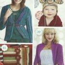 ** Crochet Today ! - Nov/Dec 2012 - Poinsettia/Snowflake Afghans / Christmas Stockings