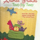 **Noah's Arc Knit Afghan Pattern with 7 Fun Animals
