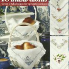 **16 Cross Stitch Patterns Quick & Easy BREAD CLOTHS