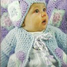 ** Hooked on Crochet - Baby Boy/Girl Ensemble -