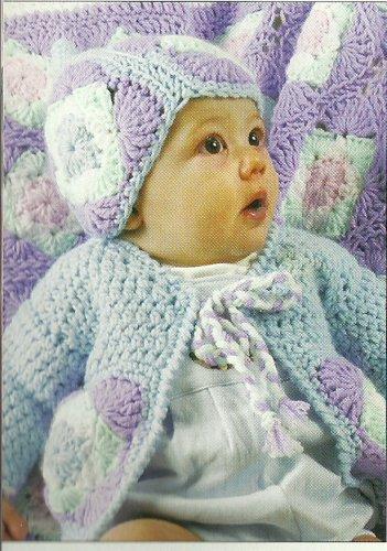 ** Hooked on Crochet - Baby Boy/Girl Ensemble -