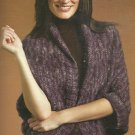 Knit Turtleback Shawl / Girl's Dresses / Ladies & Men's Sweaters/Jackets