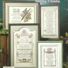 CROSS STITCH AND VERSE Patterns STONEY CREEK
