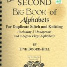 Tink's SECOND Big Book of Alphabets cross stitch Crochet Knit