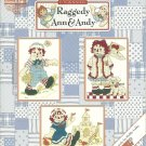 Fun Filled Days Raggedy Ann and Andy 14 Cross Stitch Patterns