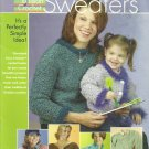 Annie's Attic Easy Tunisian Crochet Weekend Sweaters