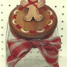 Cookie Jar Lid Painting Pattern - Rosemary West - Gingerbread