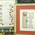 * 4 Fabulous Family Ties Cross Stitch Patterns  STONEY CREEK