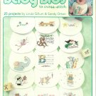 * 25 BABY BIBS Cross Stitch Patterns