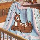 Baby Deer Afghan Pattern
