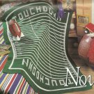 Crochet Afghan Calendar 1996 - Football - Piano with Rose - Ducky