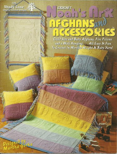 Noah's Ark Afghans and Accessories Crochet Pattern