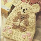 *Crochet Annie's Attic Fashion Doll Pattern / Bear Pot Holder