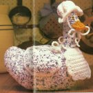 Crochet Teddy Bear Afghan / Gingham Goose / Vegetable Potholders