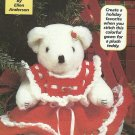Hooked on Crochet - Christmas Bear - Frog Doorstop