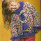 Crochet ! - The Art and Soul - 9-2004- Confetti Toggle Jacket