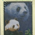 * Panda Cross Stitch Kit  FOREVER WILD  2003
