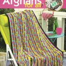Scrap Afghans for All - 7 Crochet Designs by Anne Halliday