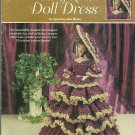 Wine & Roses Doll Dress - Annie's Attic - 1999