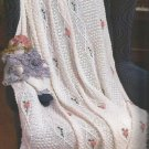 56 Crochet Afghan Patterns - Daffodil - Roses - Lace - cat