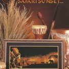 ** Cross Stitch Pattern WILDLIFE PANORAMAS ~ SAFARI SUNSET
