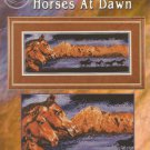 ** Cross Stitch Pattern WILDLIFE PANORAMAS ~ HORSES AT DAWN