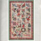 * CHRISTMAS ALPHABET Cross Stitch Patterns Vermillion Giampa