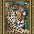** SHEBA THE LEOPARD Cross Stitch ~ 2002 Near North Treasures