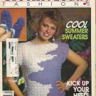 Crochet Today Fashions 1989 - Cool Summer Sweaters-Loopy Slippers