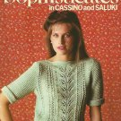 Bernat Sophisticates - Lacy Sweaters - Book 273