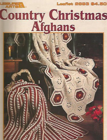 Crochet Country Christmas Afghans - 7 Designs
